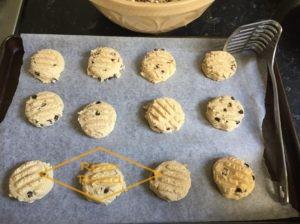 I use a potato masher to flatten my dough