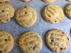 Perfectly round cookies