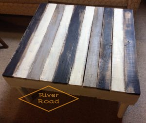 Stripped Pallet Coffee Table