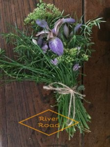 Bouquet of herbs and flowers