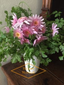 Parsley and daisies